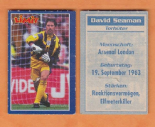 England David Seaman Arsenal (L)